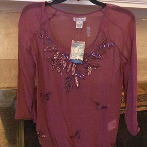 Lucky sequin shirt
